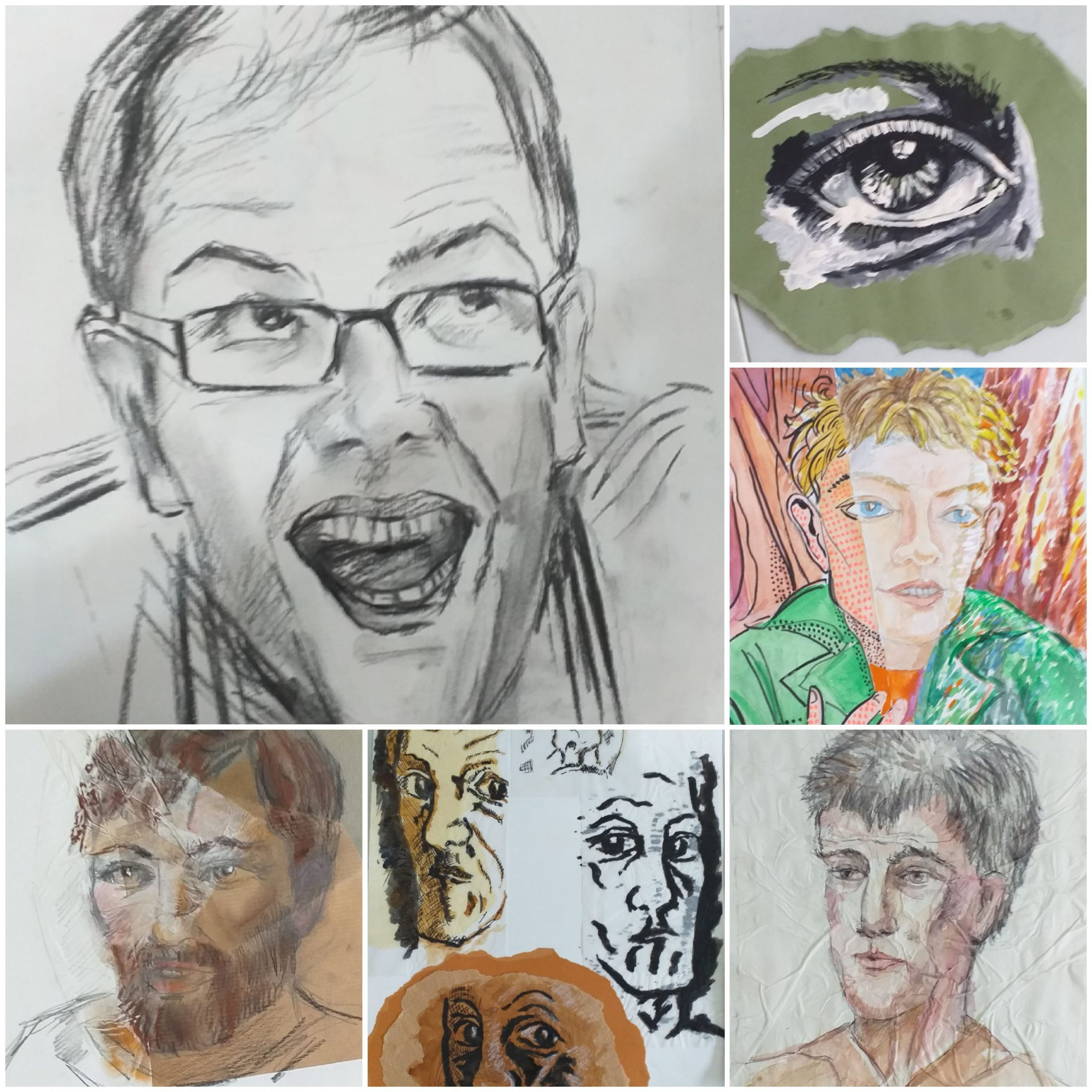 Introduction to Portrait Art course in Kidderminster Worcestershire