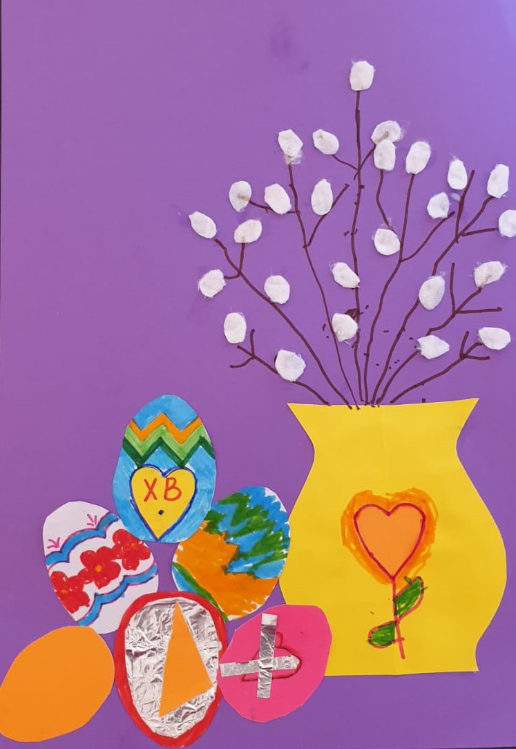 Easter-collage-by-children-and-adults-at-Magic-Wool-Art-and-Craft-Studio
