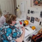 adult learners at magic Wool Art and Craft Studio